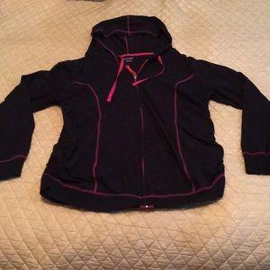Bundle 2 Motherhood maternity zipper hoodie